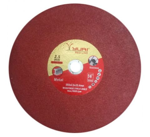 YURI 14 Inch Redline Cut Off Wheel 355 x 2.5 x 25.4 mm ( abr_cut_csw_050 )