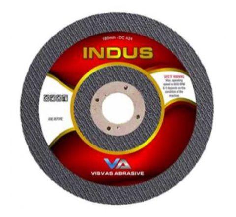 Indus 5 Inch Cut Off Wheel 125 x 1 x 22 mm Grit: A30 ( abr_gri_cyp_006 )