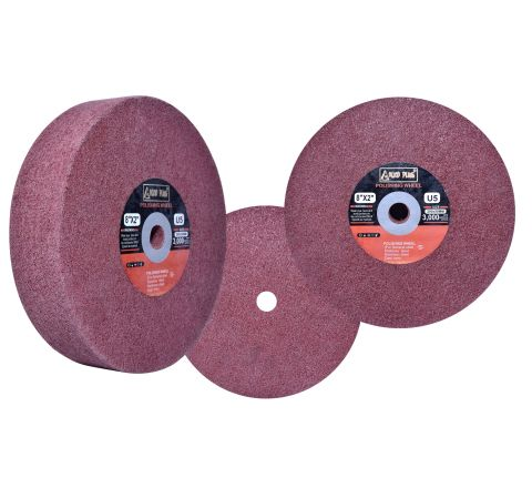 Alko Plus 8 X 2 inch Non Woven Polishing Wheel, U5 ( abr_non_nww_002 )