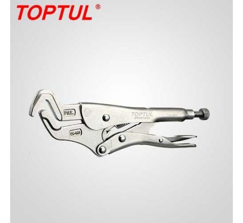 Toptul Parrot Nose Locking Pliers With Sawteeth -DMAD1A09 HT_PNC_010