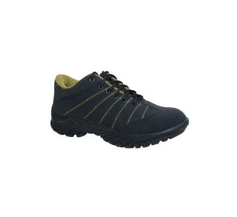 Wonker SR-0009 7.0 No. Black Colour Steel Toe Shoes