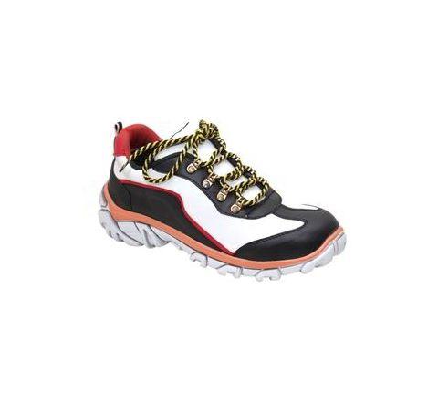 Wonker SR-507 10.0 No. White Colour Steel Toe Boots