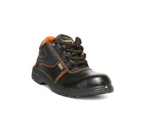 Hillson Beston 8 No High Ankle Black Safety Shoes