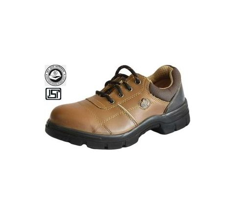 Bata Endura B-sport 9 No. Brown Steel Toe Safety Shoes