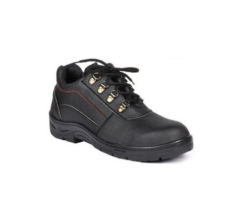 Wonker SR-0004 7.0 No. Black Colour Steel Toe Shoes