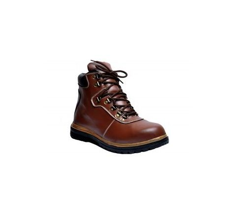 Wonker SR-505 6.0 No. Brown Colour Steel Toe Boots