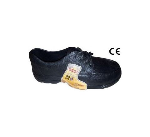 Safari Pro Accord 6 No. Black Plain Toe Safety shoes