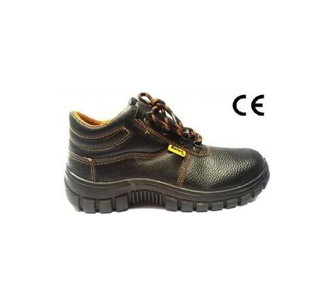 Safari Pro A-732 7 No. Black Steel Toe Safety shoes