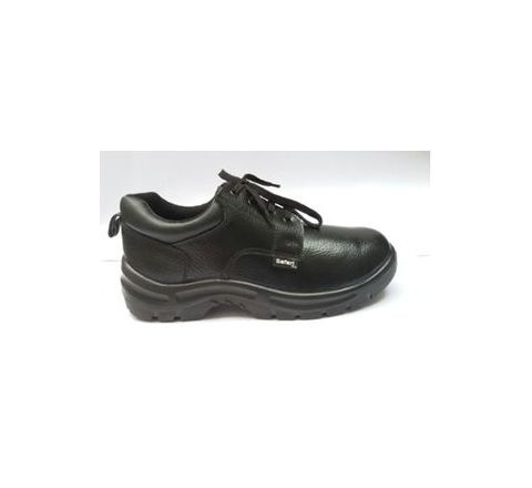Safari Pro A666 6 No. Black Steel Toe Safety shoes