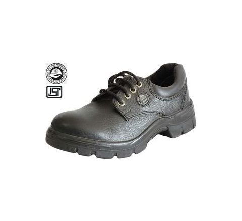 Bata Endura Low Cut 6 No. Black, Brown Steel Toe Safety Shoes