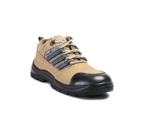 Allen Cooper AC 9005 8 No. Brown Steel Toe Safety Shoes