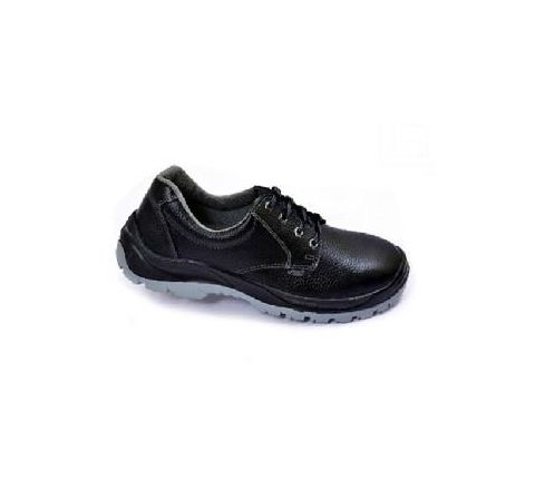 Allen Cooper AC-1054 6 No. Black Steel Toe Safety Shoes