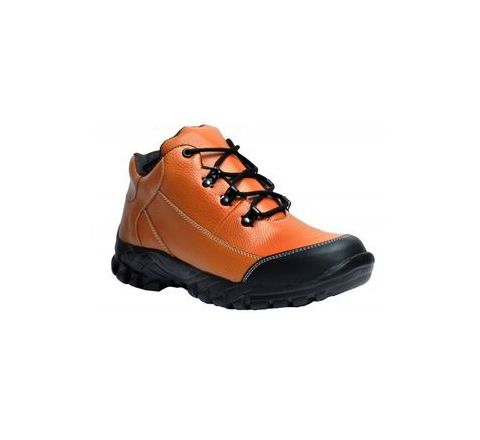Wonker SR-504 8.0 No. Tan Colour Steel Toe Boots