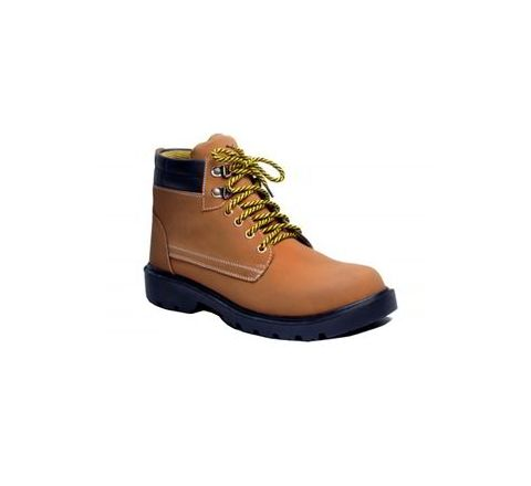 Wonker SR-501 7.0 No. Tan Colour Steel Toe Shoes