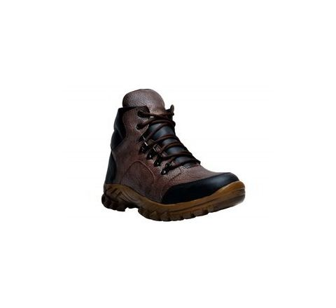 Wonker SR-503 6.0 No. Brown Colour Steel Toe Boots