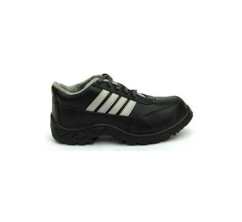 Safari Pro Sprint PVC Sole 8 No. Black Steel Toe Safety Shoes