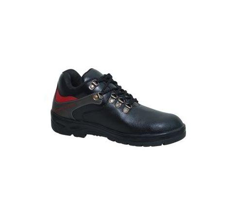 Wonker SR-0008 10.0 No. Black Colour Steel Toe Shoes