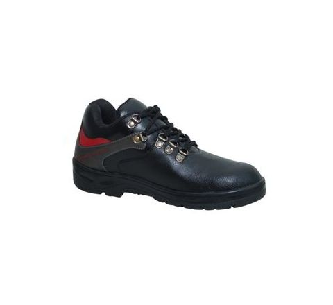 Wonker SR-0008 6.0 No. Black Colour Steel Toe Shoes