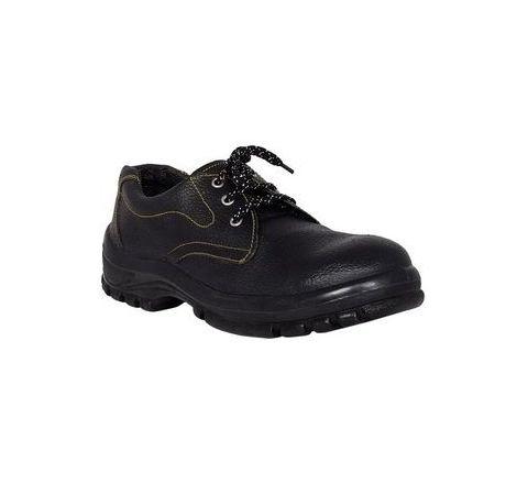 NeoSafe Iron A5011 6 Size Leather PU Single Density Sole Safety Shoes