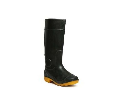 Hillson Century 101 8 No Black and Yellow Plain Toe Gumboots