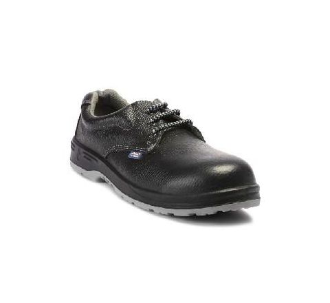 Allen Cooper AC-1143 7 No. Black Steel Toe Safety Shoes