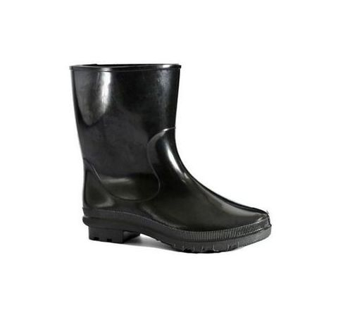 Hillson DON Boots 10 No. Red Plain Toe PVC Rubber Boots