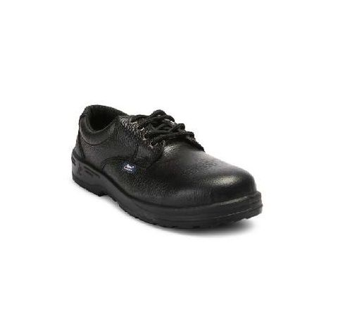Allen Cooper AC-1150 6 No. Black Steel Toe Safety Shoes