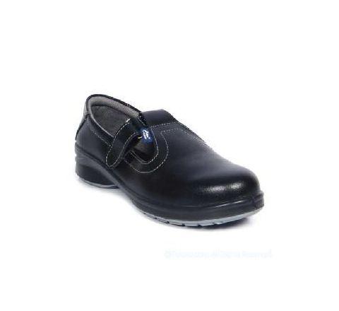 Allen Cooper AC-1197 6 No. Black Steel Toe Safety Shoes