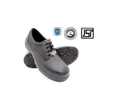 Liberty WARRIOR 7198-01 6 No. Black Steel Toe Safety shoes