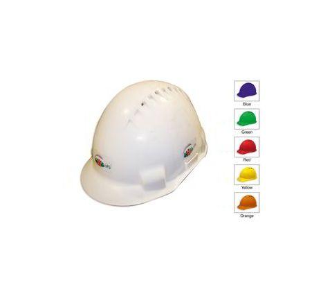 UFS White Hard Helmet UGD 301 Pack of 5