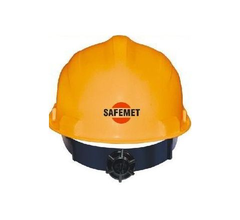 Metro Red Ratchet Safety Helmet SH-1201