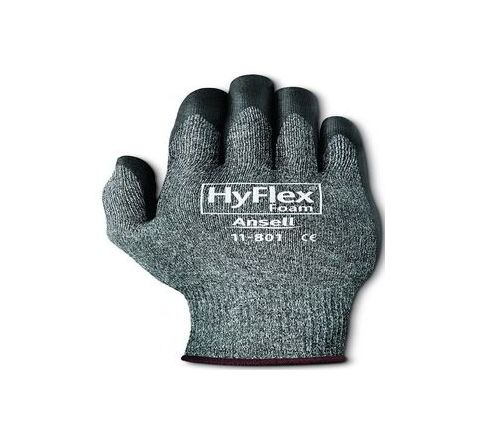 Ansell Chemical Resistant Gloves 10 Pack of 144 Pair HyFlex 11-801