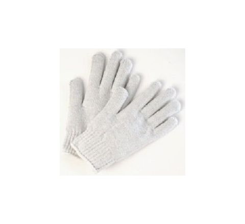 Alamdar Knit Gloves-White, 14 Inch Pack of 10 Pair AE 309