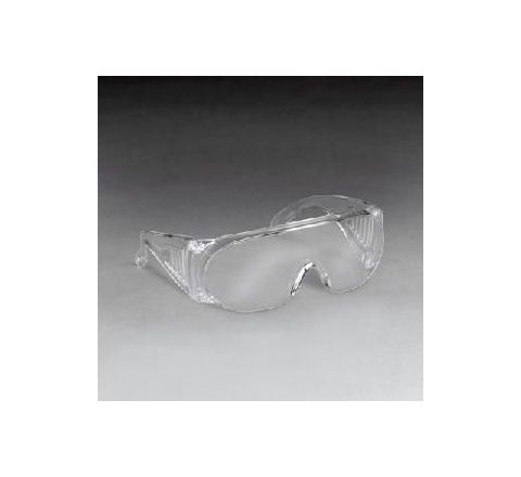 3M 1611 Scratch-Resistant Clear Visitor Specs Pack of 100