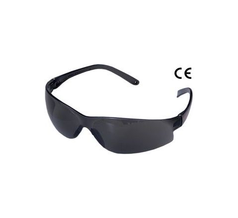 Karam ES010(Smoke) Scratch-Resistant Safety Goggles Pack of 4