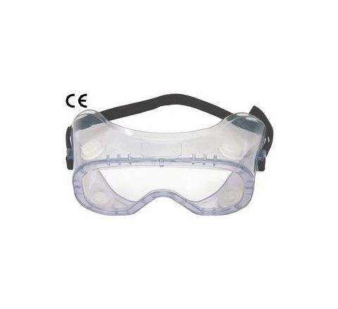 Karam ES009(Clear/Antifog) Clear Safety Goggles Pack of 3