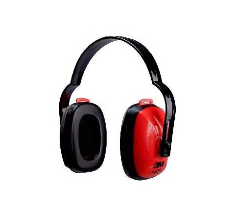 3M 1426 21 dB Red and Black Earmuff Pack of 10
