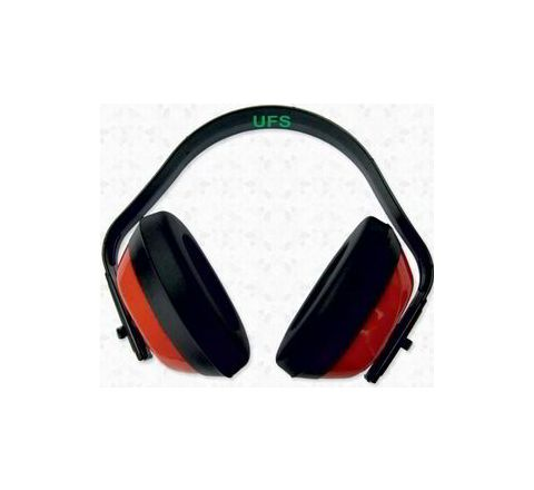 UFS EP 101 Regular Earmuff - 28 dB NRR (Red)