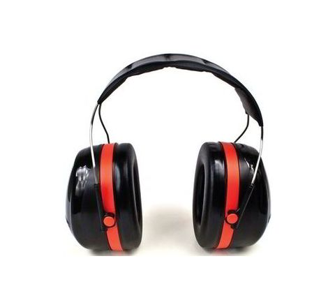 3M H10A 30 dB Red and Black Earmuff
