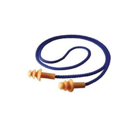 3M 1270 25 dB Corded Ear Plugs Pack of 10
