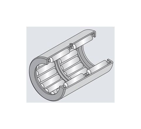NTN HK1616 Drawn Cup Type Needle Roller Bearing (Inside Dia - 16mm, Outside Dia - 22mm) by NTN
