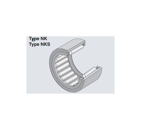 NTN NK15/20R Machined Ring Needle Roller Bearing (Inside Dia - 15mm, Outside Dia - 23mm) by NTN