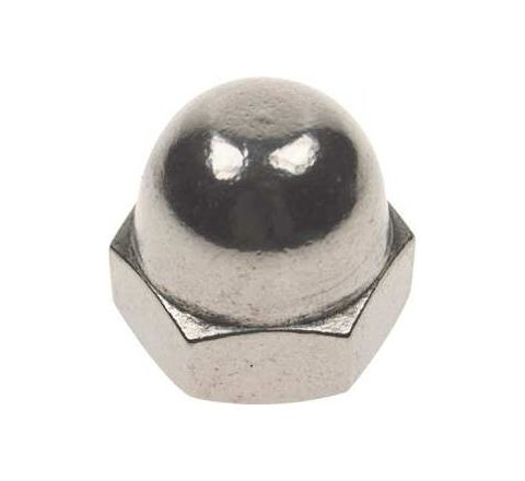 Mahavir Fasteners Stainless Steel Dom Nut (Dia 5/8 inch Grade 304-A2)by Mahavir Fasteners