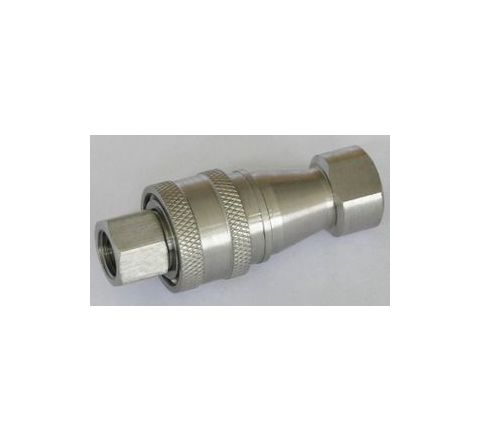 "Techno 1/4"" Working Pressure 70 Kg Hydraulic Coupling by Techno"