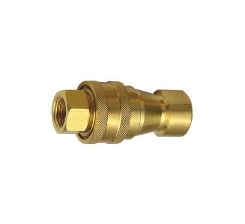 "Techno 1"" Brass Hydraulic Coupling by Techno"
