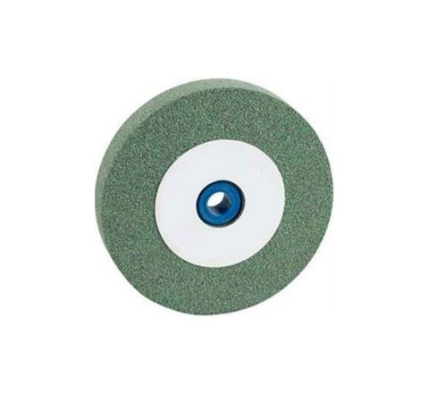 Carborundum C G C 60 K5 VG Green Carbide Wheels Dia 200mm, Thick 20mm, Bore 31.75mm