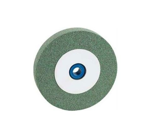 Carborundum G C 120 J5 VG Green Carbide Wheels Dia 200mm, Thick 20mm, Bore 31.75mm