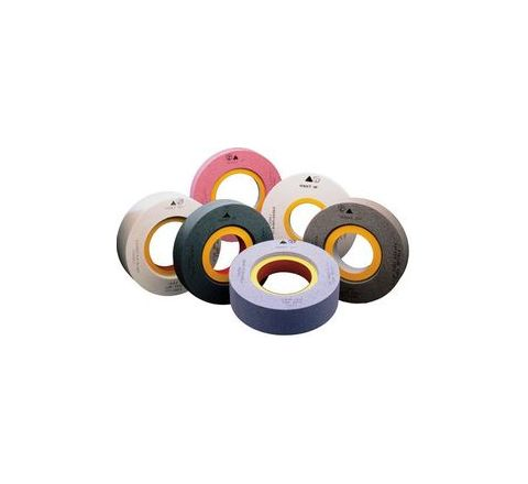 Carborundum AA60 K5 V8 Internal Grinding Wheels Dia 25mm, Thick 13mm, Bore 6.35mm