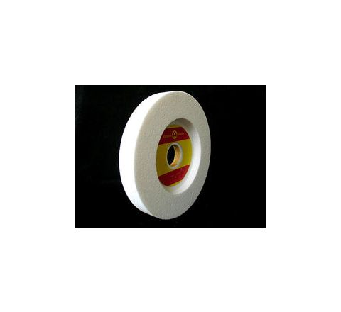 Carborundum AA46 (DISH) White Wheels Dia 152.4mm, Thick 12.7mm, Bore 31.75mm