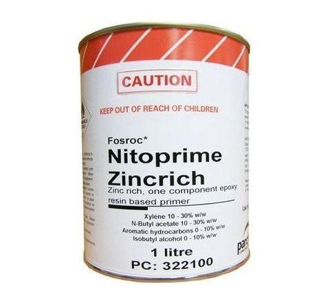 fosroc 1 litre Nitozinc Primer Standard